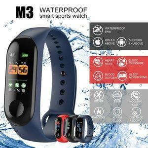 M3 Smart Band Watch Bracelet Activity Tracker